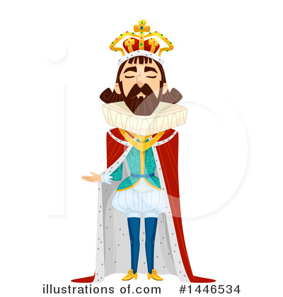 King Clipart #1446534 by BNP Design Studio