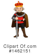 King Clipart #1462151 by Graphics RF
