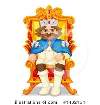 King Clipart #1462154 by Graphics RF