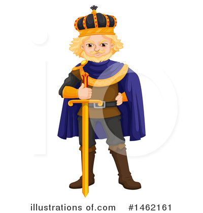 King Clipart #1462161 by Graphics RF
