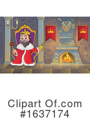 King Clipart #1637174 by visekart