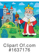 King Clipart #1637176 by visekart