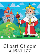 King Clipart #1637177 by visekart