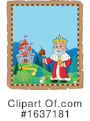 King Clipart #1637181 by visekart
