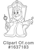 King Clipart #1637183 by visekart