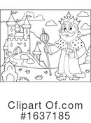 King Clipart #1637185 by visekart