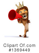 King Lion Clipart #1369449 by Julos