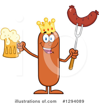 Beer Clipart #1294089 by Hit Toon