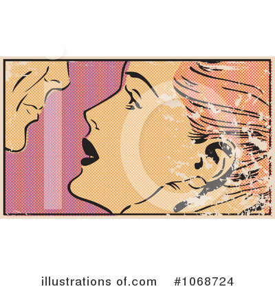 Kissing Clipart #1068724 by brushingup