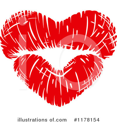 Heart Clipart #1178154 by Vector Tradition SM