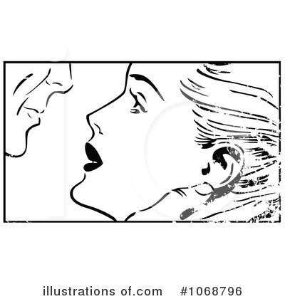 Kissing Clipart #1068796 by brushingup