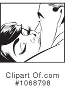 Royalty-Free (RF) Kissing Clipart Illustration #1068798