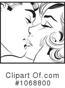 Royalty-Free (RF) Kissing Clipart Illustration #1068800