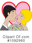 Royalty-Free (RF) Kissing Clipart Illustration #1092960