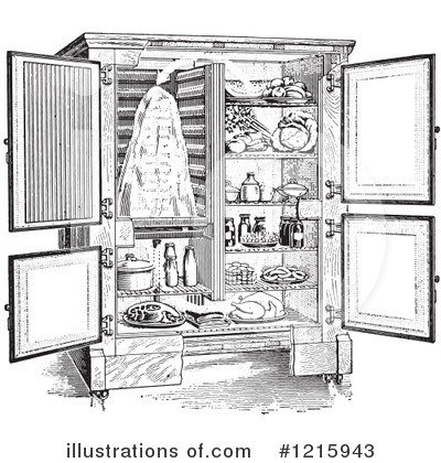 Refrigerator Clipart #1215943 by Picsburg