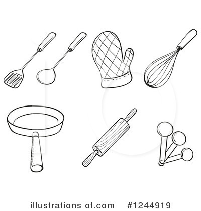 Baking Clipart #1244919 by Graphics RF