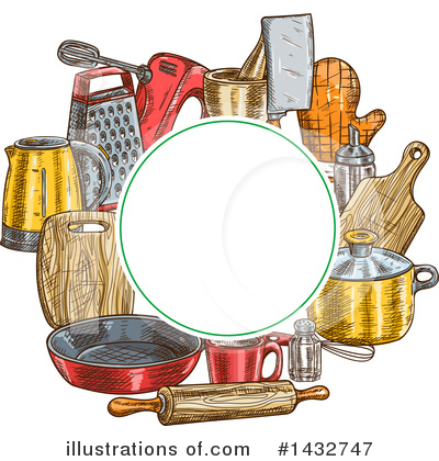 Mortar And Pestle Clipart #1432747 by Vector Tradition SM