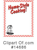 Royalty-Free (RF) Kitchen Clipart Illustration #14686