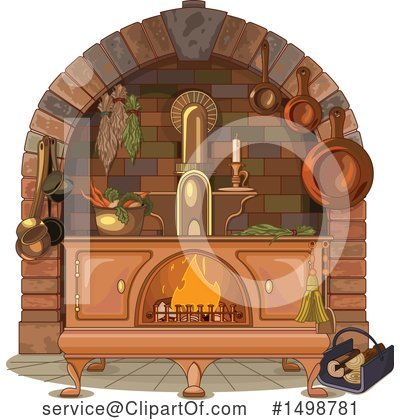 Stove Clipart #1498781 by Pushkin