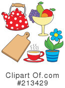 Kitchen Clipart #213429 by visekart