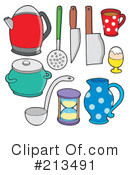 Kitchen Clipart #213491 by visekart