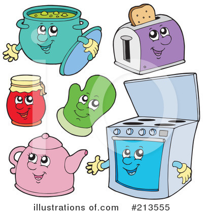 Kitchen Clipart #213555 by visekart