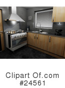 Kitchen Clipart #24561 by KJ Pargeter