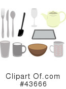 Kitchen Utensils Clipart #43666 by mheld