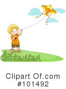 Royalty-Free (RF) kite Clipart Illustration #101492