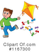 Royalty-Free (RF) Kite Clipart Illustration #1167300