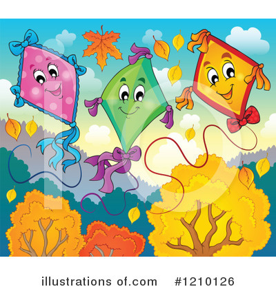 Kite Clipart #1210126 by visekart