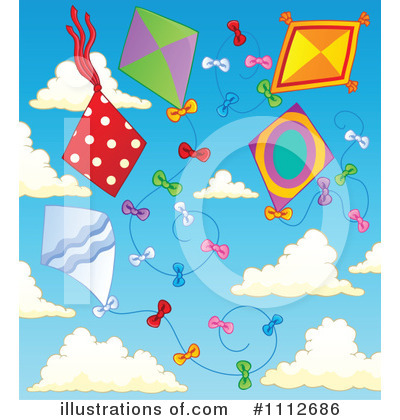 Kite Clipart #1112686 by visekart