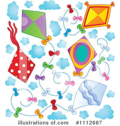 Kite Clipart #1112687 by visekart