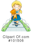 Royalty-Free (RF) Kitten Clipart Illustration #101506