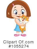 Royalty-Free (RF) Kitten Clipart Illustration #1055274