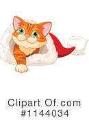 Royalty-Free (RF) Kitten Clipart Illustration #1144034