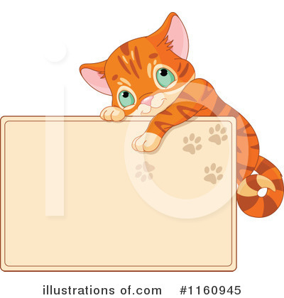 Orange Cat Clipart #1160945 by Pushkin