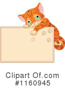 Royalty-Free (RF) kitten Clipart Illustration #1160945