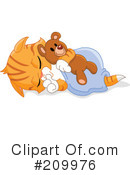 Royalty-Free (RF) Kitten Clipart Illustration #209976