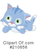 Royalty-Free (RF) Kitten Clipart Illustration #210656