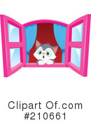Royalty-Free (RF) Kitten Clipart Illustration #210661
