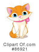 Royalty-Free (RF) Kitten Clipart Illustration #86921