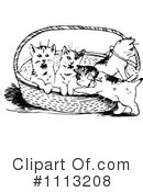 Royalty-Free (RF) Kittens Clipart Illustration #1113208