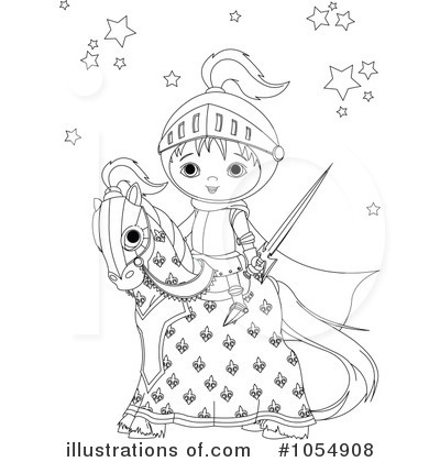 Knight Clipart #1054908 by Pushkin