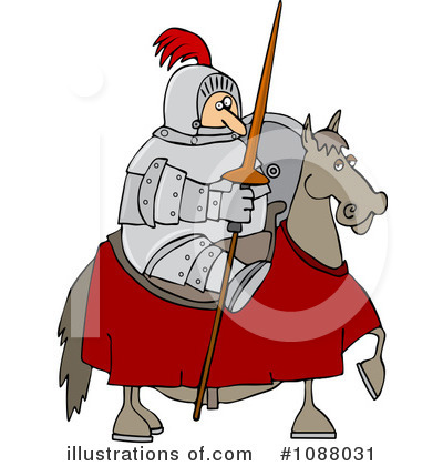 Jousting Clipart #1088031 by djart