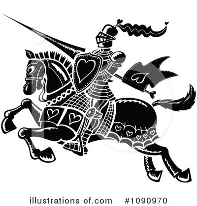 Jousting Clipart #1090970 by Zooco