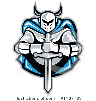 Knight Clipart #1107789 by patrimonio