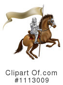 Royalty-Free (RF) knight Clipart Illustration #1113009