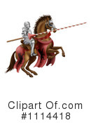 Royalty-Free (RF) Knight Clipart Illustration #1114418