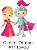 Royalty-Free (RF) knight Clipart Illustration #1116433